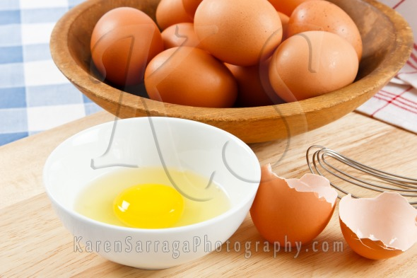 Raw Eggs With Brown Shells | Stock Photo