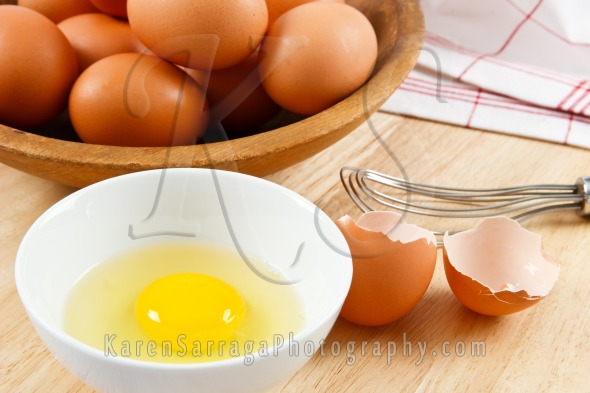 Farm Fresh Eggs For Breakfast | Stock Photo