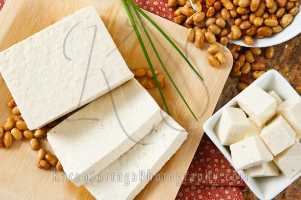 Tofu With Soybeans | Stock Photo