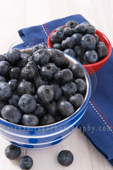Close Up Of Fresh Ripe Blueberries | Stock Photo