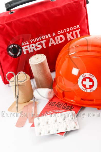 Be Prepared With First Aid Supplies | Stock Photo