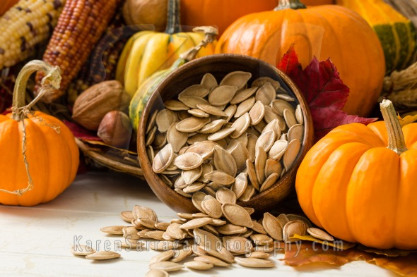 Toasted Pumpkin Seeds | Stock Photo