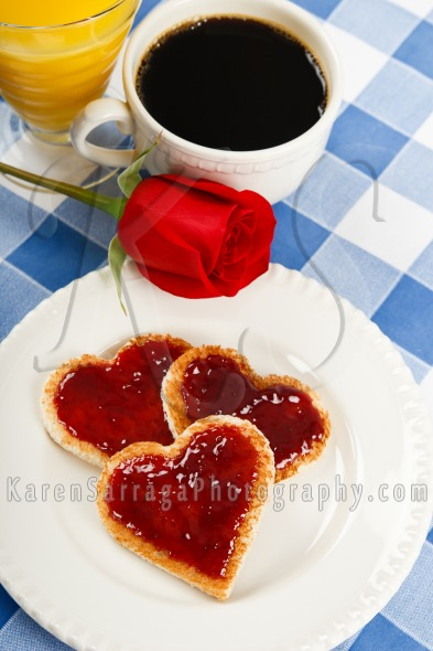 Breakfast Romance | Stock Photo