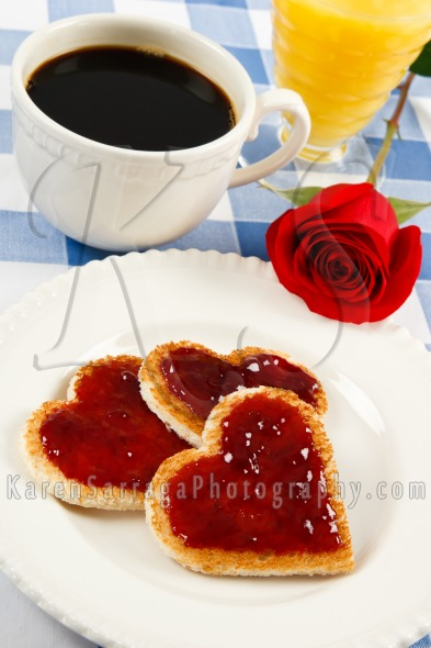 Romantic Breakfast | Stock Photo