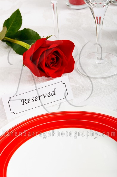 Elegant Restaurant Table Setting | Stock Photo
