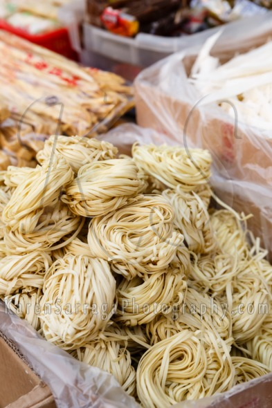 Dried Noodles For Sale | Stock Photo