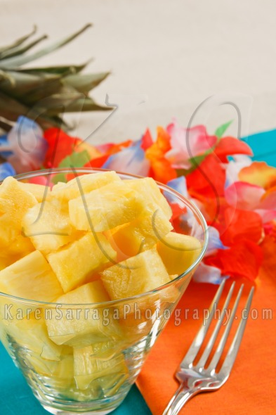 Tropical Pineapple Salad | Stock Photo